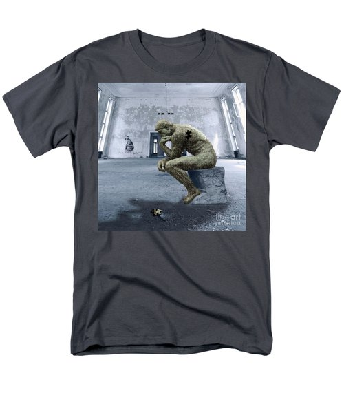 Men's T-Shirt  (Regular Fit) featuring the photograph Puzzled by Juli Scalzi