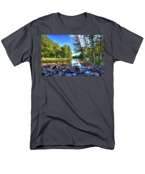 The Raquette River Men's T-Shirt  (Regular Fit) by David Patterson