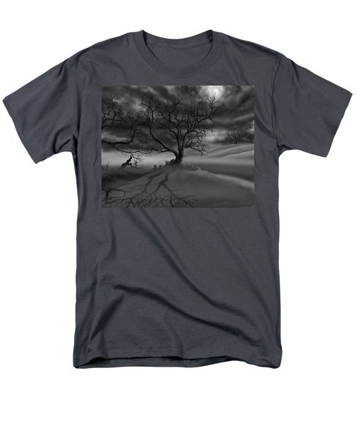 The Raven's Night Men's T-Shirt  (Regular Fit) by James Christopher Hill