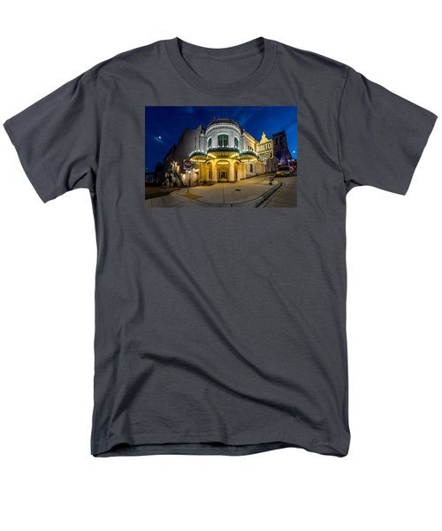 Men's T-Shirt  (Regular Fit) featuring the photograph The Rialto Theater - Historic Landmark by Rob Green