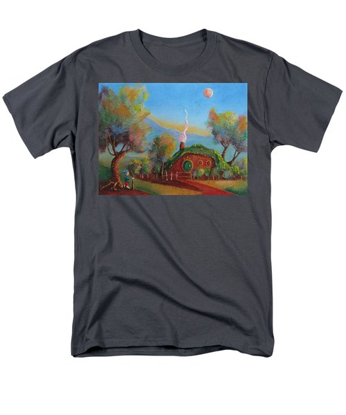 The Road Goes Ever On. Men's T-Shirt  (Regular Fit) by Joe  Gilronan