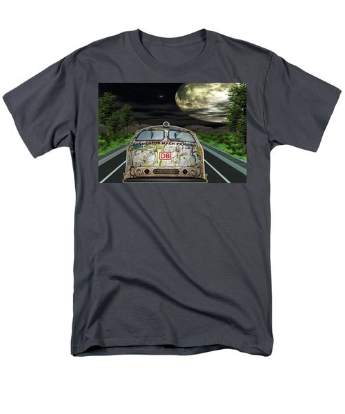 Men's T-Shirt  (Regular Fit) featuring the digital art The Road Trip by Angela Hobbs