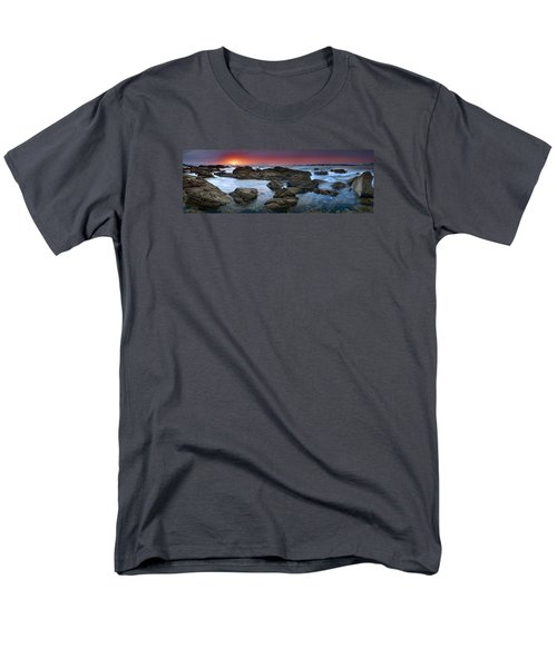 The Rock Labyrinth Men's T-Shirt  (Regular Fit) by John Chivers