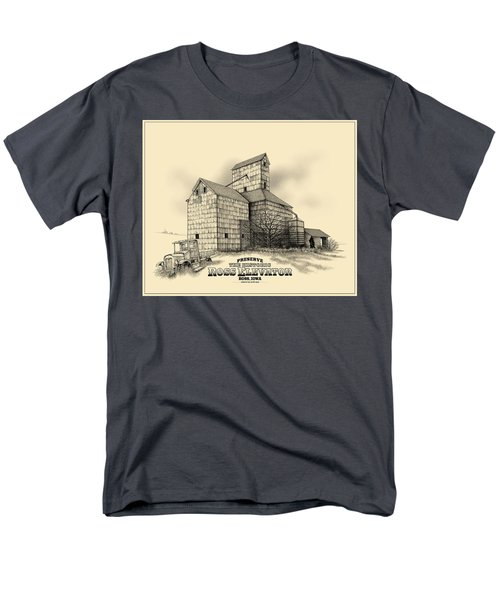 The Ross Elevator Version 2 Men's T-Shirt  (Regular Fit) by Scott Ross