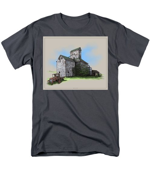 The Ross Elevator Version 5 Men's T-Shirt  (Regular Fit) by Scott Ross