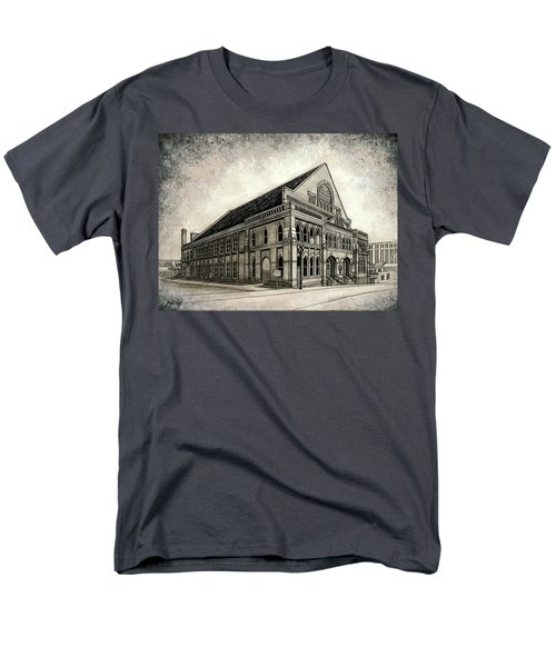 Men's T-Shirt  (Regular Fit) featuring the painting The Ryman by Janet King