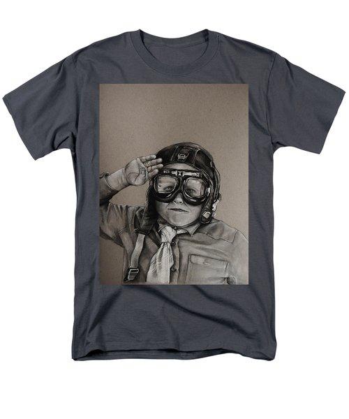 The Salute Men's T-Shirt  (Regular Fit) by Jean Cormier