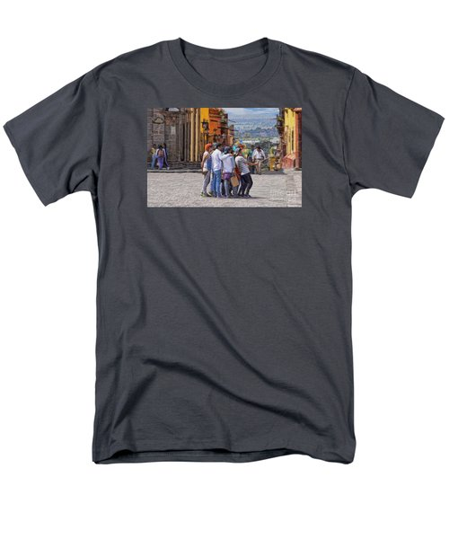 The San Miguel Selfie Men's T-Shirt  (Regular Fit) by John  Kolenberg