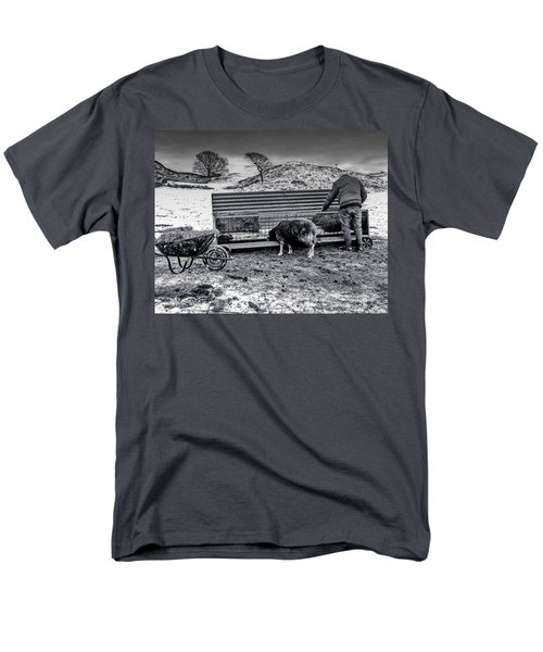 Men's T-Shirt  (Regular Fit) featuring the photograph The Shepherd by Keith Elliott
