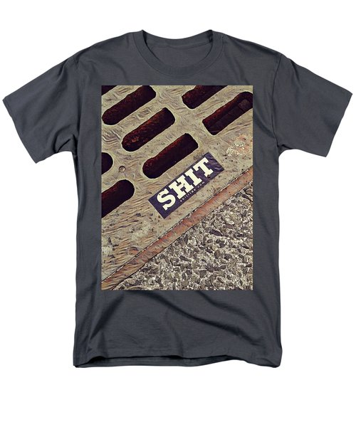The Shit You See In New York City Men's T-Shirt  (Regular Fit) by Bruce Carpenter
