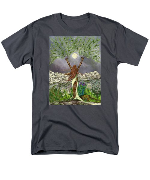 The Singing Girl Men's T-Shirt  (Regular Fit) by FT McKinstry