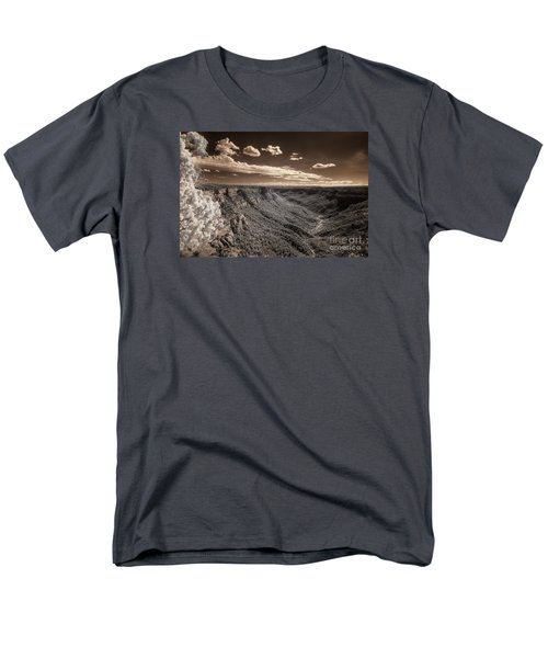 The Sky Tilts Down To The Canyon Men's T-Shirt  (Regular Fit) by William Fields
