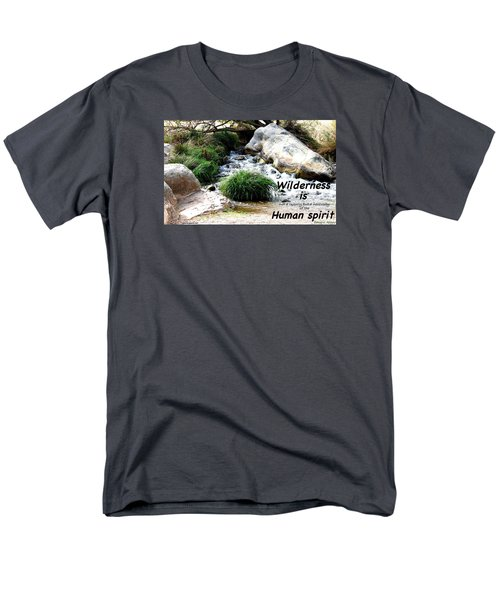 Men's T-Shirt  (Regular Fit) featuring the photograph The Spirit Of Water by David Norman