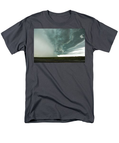 Men's T-Shirt  (Regular Fit) featuring the photograph The Stoneham Shelf by Ryan Crouse