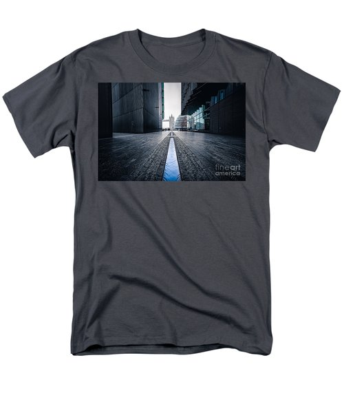 The Stream Of Time Men's T-Shirt  (Regular Fit) by Giuseppe Torre