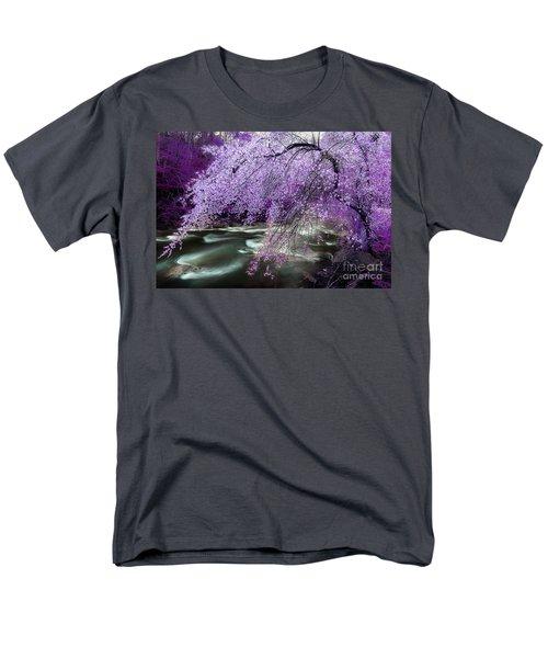 The Stream's Healing Rhythm Men's T-Shirt  (Regular Fit) by Michael Eingle