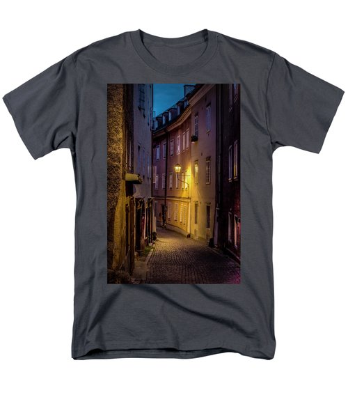 Men's T-Shirt  (Regular Fit) featuring the photograph The Streets Of Salzburg by David Morefield