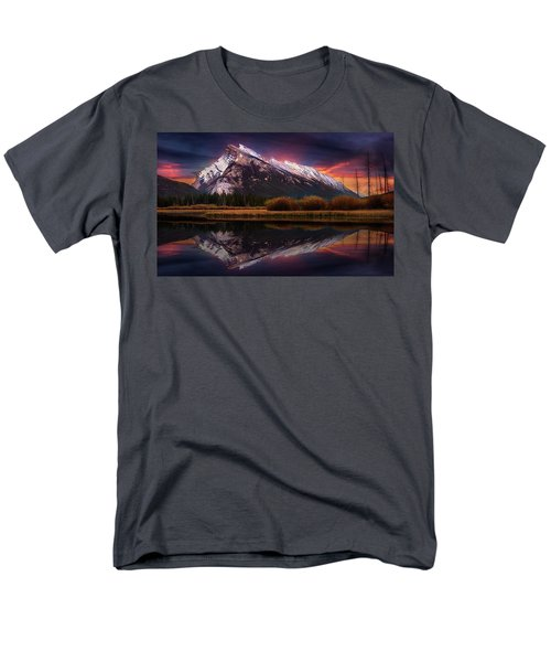 Men's T-Shirt  (Regular Fit) featuring the photograph The Sun Also Rises by John Poon