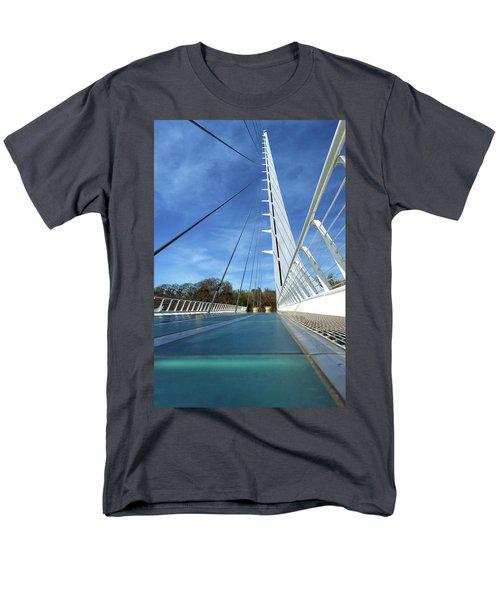 The Sundial Bridge Men's T-Shirt  (Regular Fit) by James Eddy