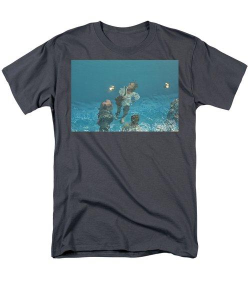 The Swimming Pool Men's T-Shirt  (Regular Fit) by Patricia Hofmeester