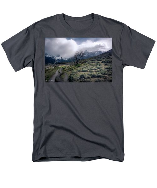 Men's T-Shirt  (Regular Fit) featuring the photograph The Tree In The Wind by Andrew Matwijec