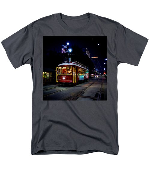 Men's T-Shirt  (Regular Fit) featuring the photograph The Trolley by Evgeny Vasenev