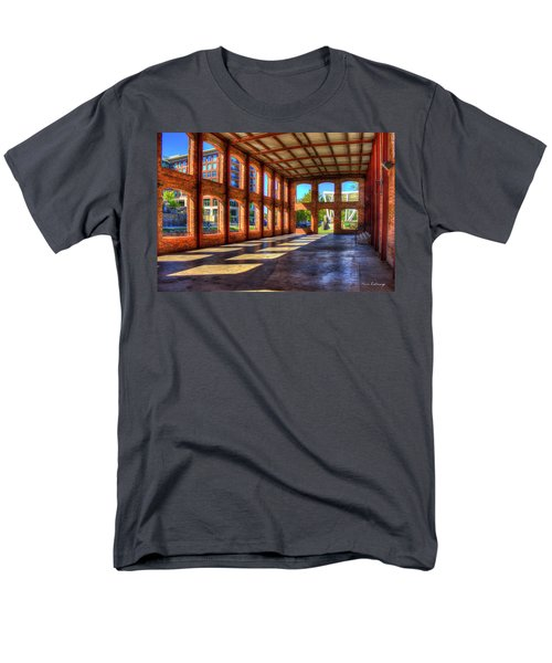 The Venue Old Mill Wedding Venue Reedy River South Caroline Art Men's T-Shirt  (Regular Fit) by Reid Callaway