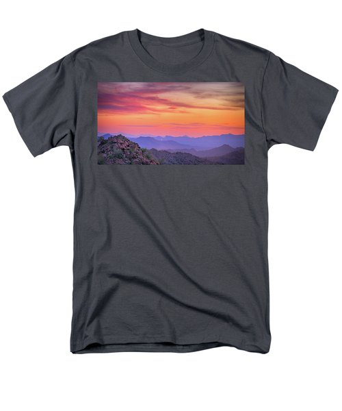 The View From Above Men's T-Shirt  (Regular Fit) by Anthony Citro