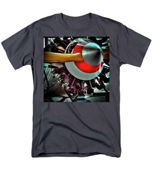 The Vintage Stearman C-3b Biplane Men's T-Shirt  (Regular Fit) by David Patterson