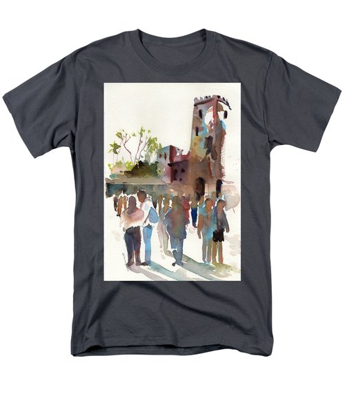The Visitors Men's T-Shirt  (Regular Fit) by P Anthony Visco