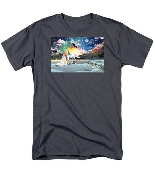 The Waiting Bride Men's T-Shirt  (Regular Fit) by Dolores Develde