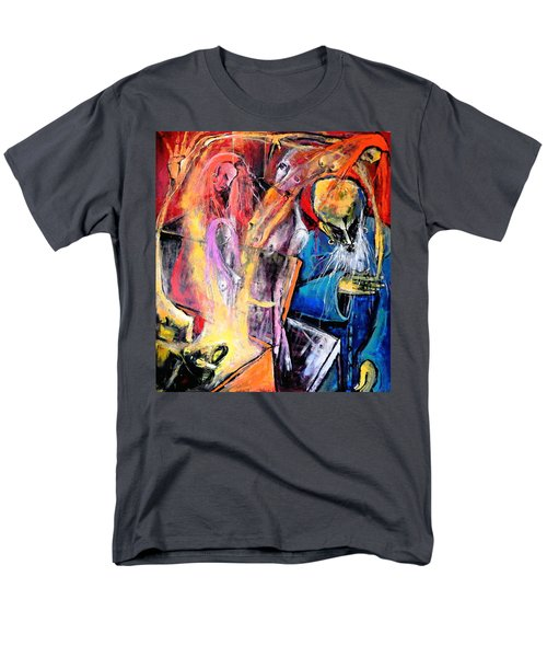 Men's T-Shirt  (Regular Fit) featuring the painting The Wake by Kenneth Agnello