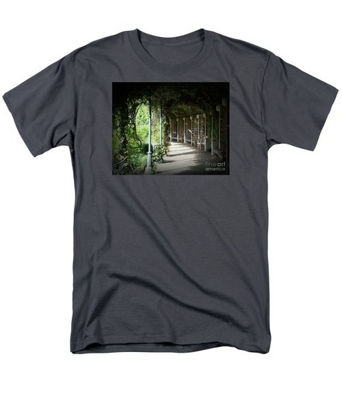 Men's T-Shirt  (Regular Fit) featuring the photograph The Walkway by Lisa L Silva