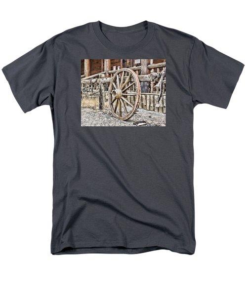 The Wheel Rolls On Men's T-Shirt  (Regular Fit)