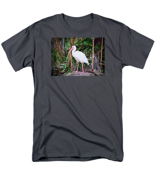 Men's T-Shirt  (Regular Fit) featuring the painting The White Ibis by Judy Kay