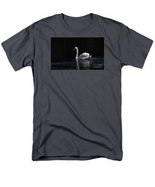 The White Swan Men's T-Shirt  (Regular Fit) by David  Hollingworth