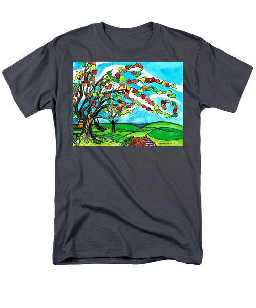 The Windy Tree Men's T-Shirt  (Regular Fit)
