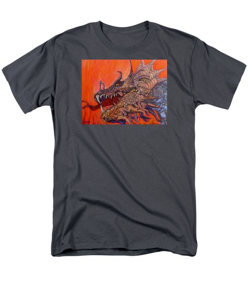 There Once Were Dragons Men's T-Shirt  (Regular Fit) by Barbara O'Toole