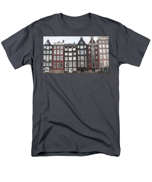 There Was A Crooked House Men's T-Shirt  (Regular Fit) by Therese Alcorn