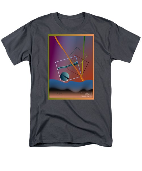 Men's T-Shirt  (Regular Fit) featuring the digital art Thinking About The Future by Leo Symon