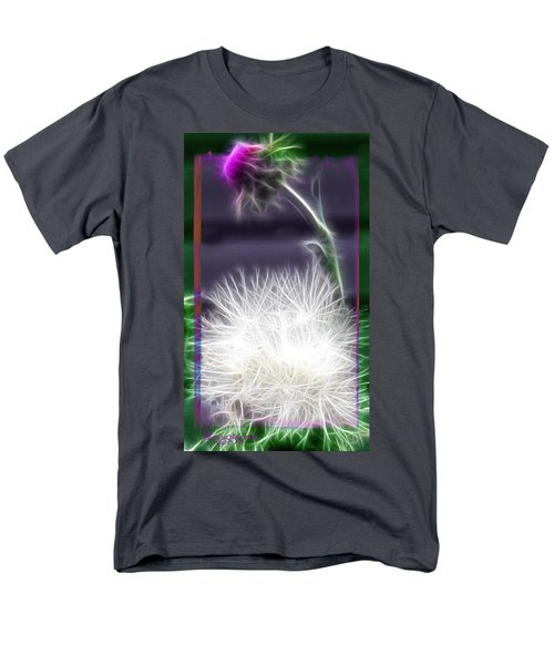 Men's T-Shirt  (Regular Fit) featuring the photograph Thistle by EricaMaxine  Price