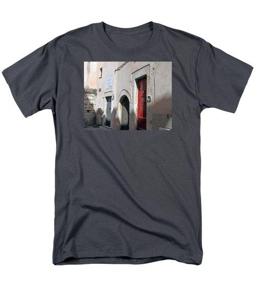 Three Different Doors Men's T-Shirt  (Regular Fit) by Allan Levin