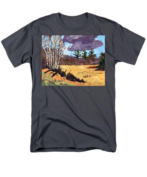 Three Men's T-Shirt  (Regular Fit) by Phil Chadwick
