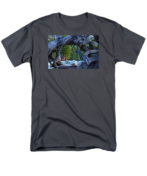 Through The Looking Glass Men's T-Shirt  (Regular Fit) by Sean Sarsfield