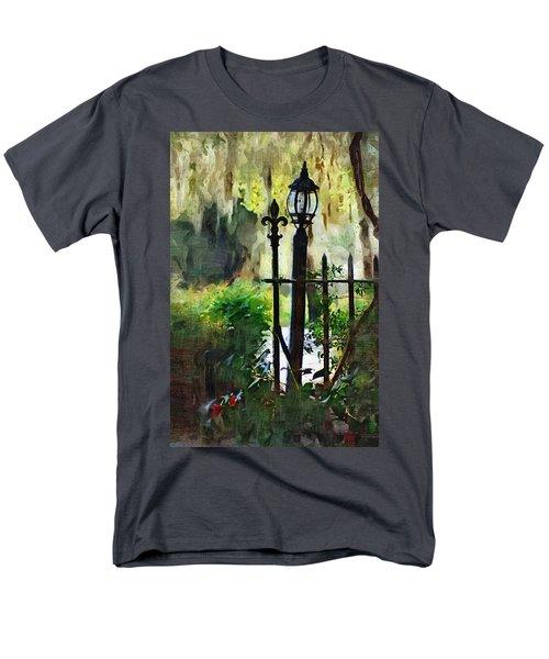 Men's T-Shirt  (Regular Fit) featuring the digital art Thru The Gate by Donna Bentley