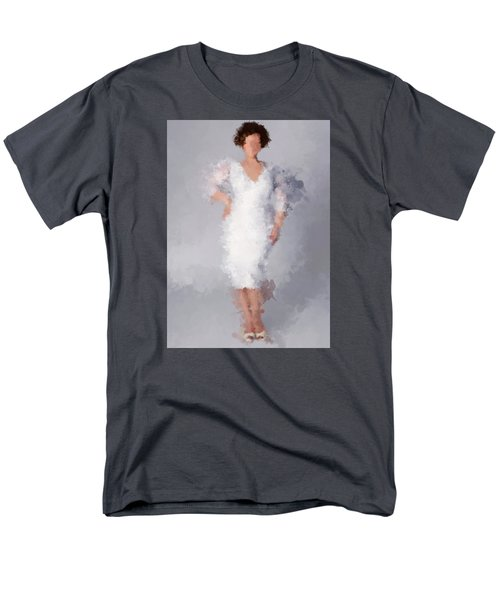 Men's T-Shirt  (Regular Fit) featuring the digital art Tiffany by Nancy Levan