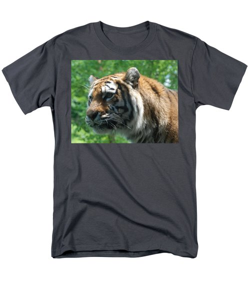 Men's T-Shirt  (Regular Fit) featuring the photograph Tiger Profile by Richard Bryce and Family