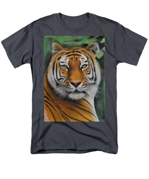 Tiger - The Heart Of India Men's T-Shirt  (Regular Fit) by Vishvesh Tadsare
