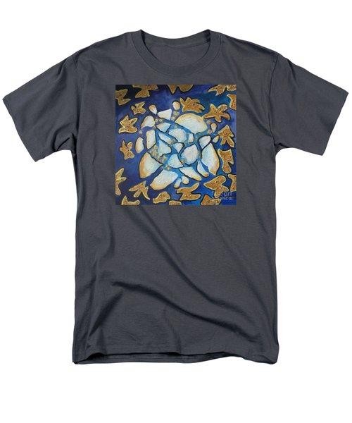 Tikkun Olam Heal The World Men's T-Shirt  (Regular Fit) by Laurie Morgan