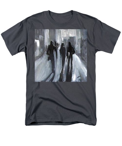Time Of Long Shadows Men's T-Shirt  (Regular Fit) by Barbara O'Toole